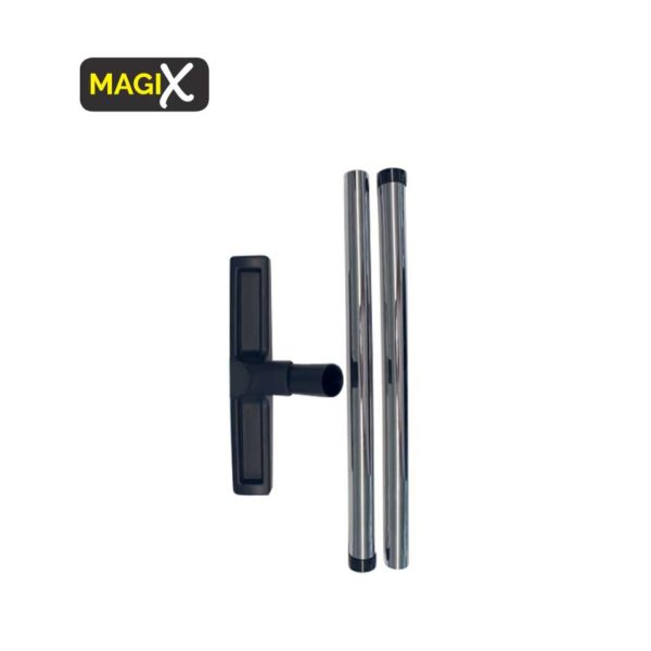 magix accessories floor brush and pair of chromed pipes